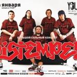 Distemper в клубе YOU TOO (Москва) 29 января
